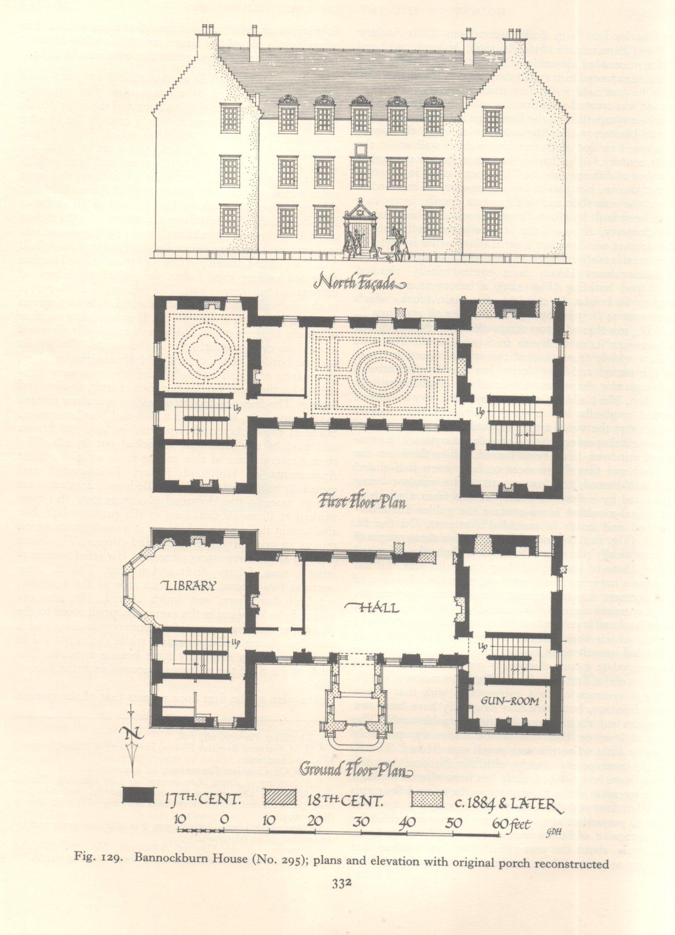 Bannockburn house stirlingshire for 18th century house plans