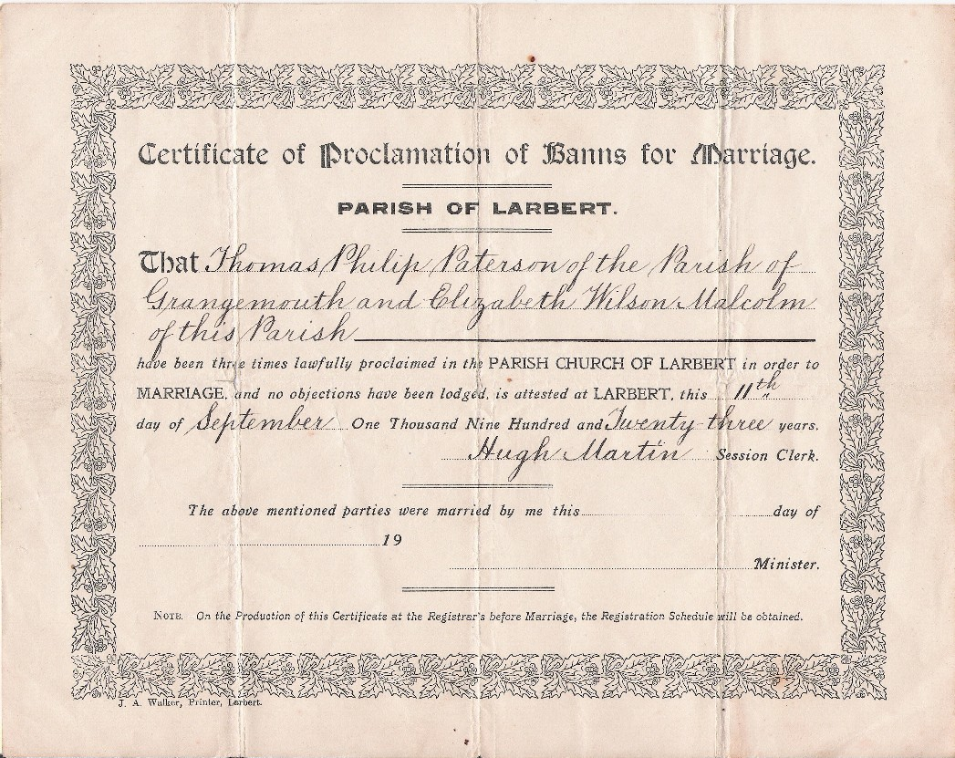 the banns of marriage Marriage banns, also called the banns of marriage, are a formal announcement by a christian church of a couple's intention to wed.